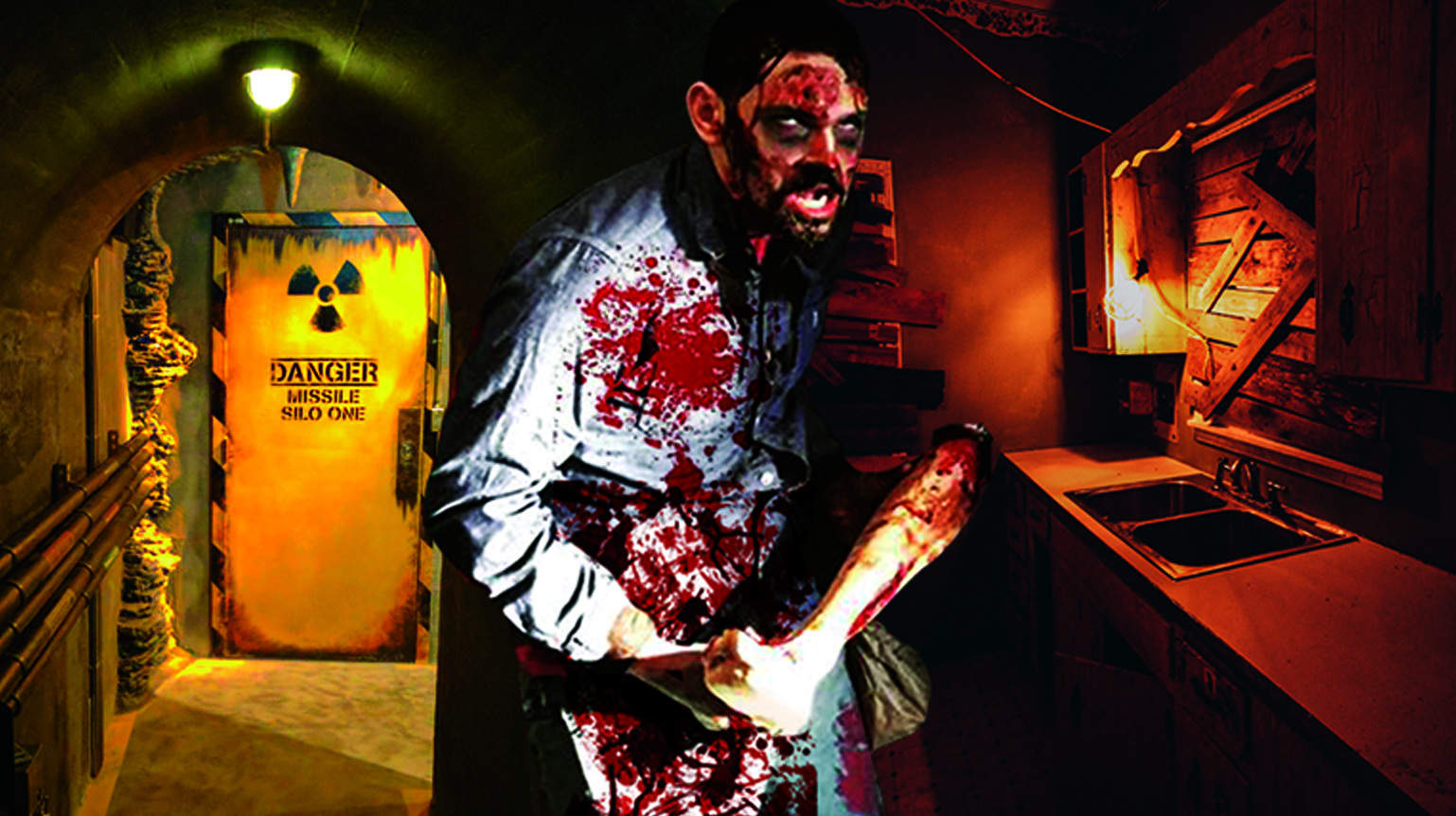 halloween zombie outbreak is back for its second year! - escape