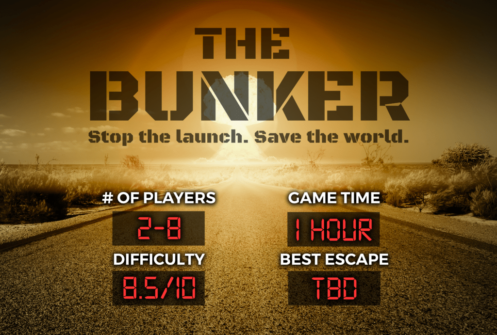 The Bunker Escape Experience Chattanooga Breakout Escape Room Games