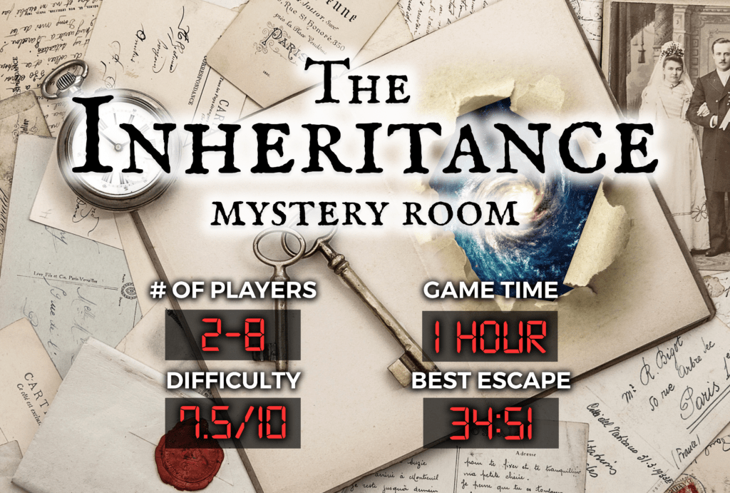 The Inheritance Mystery Room Escape Experience