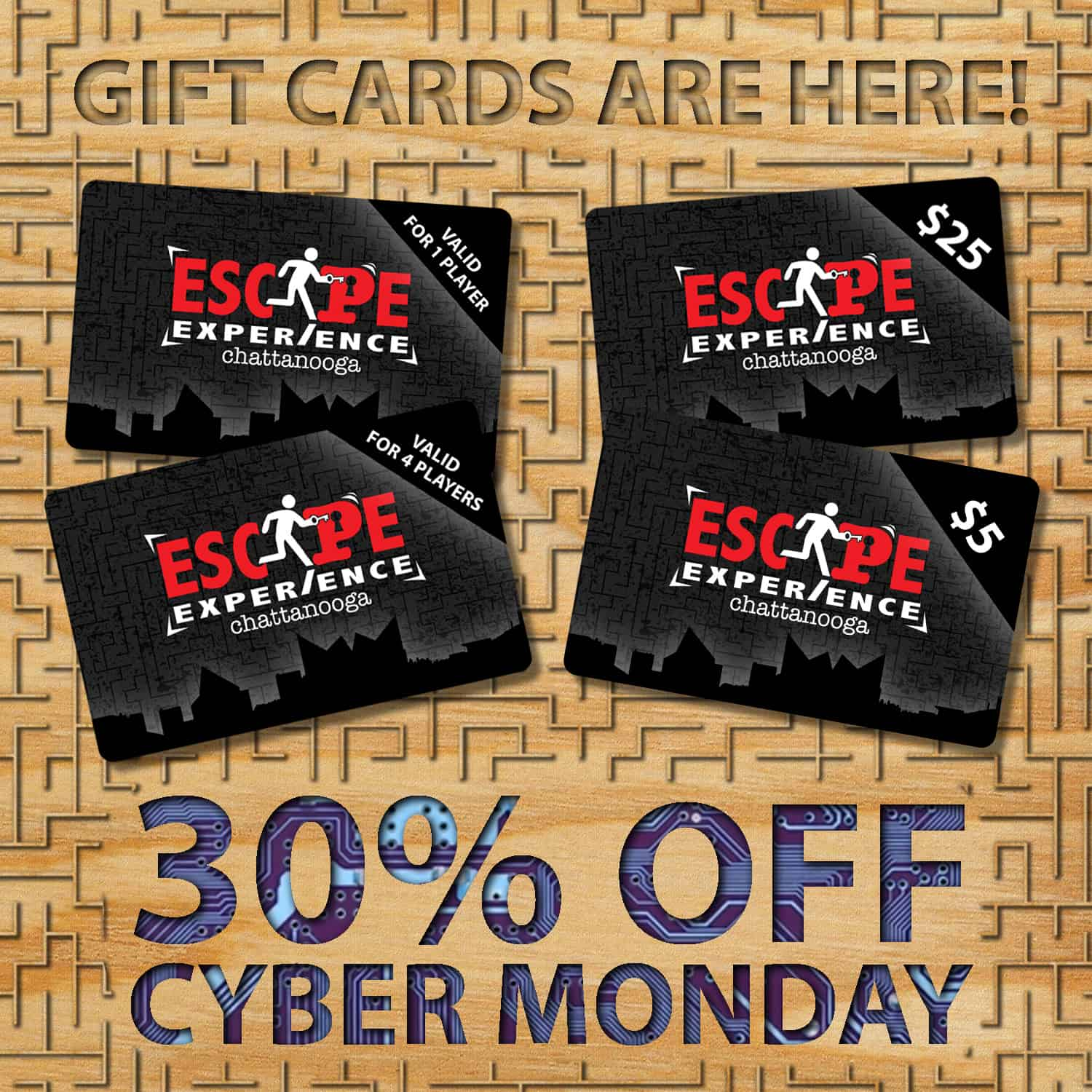 Cyber Monday Gift Card Deal
