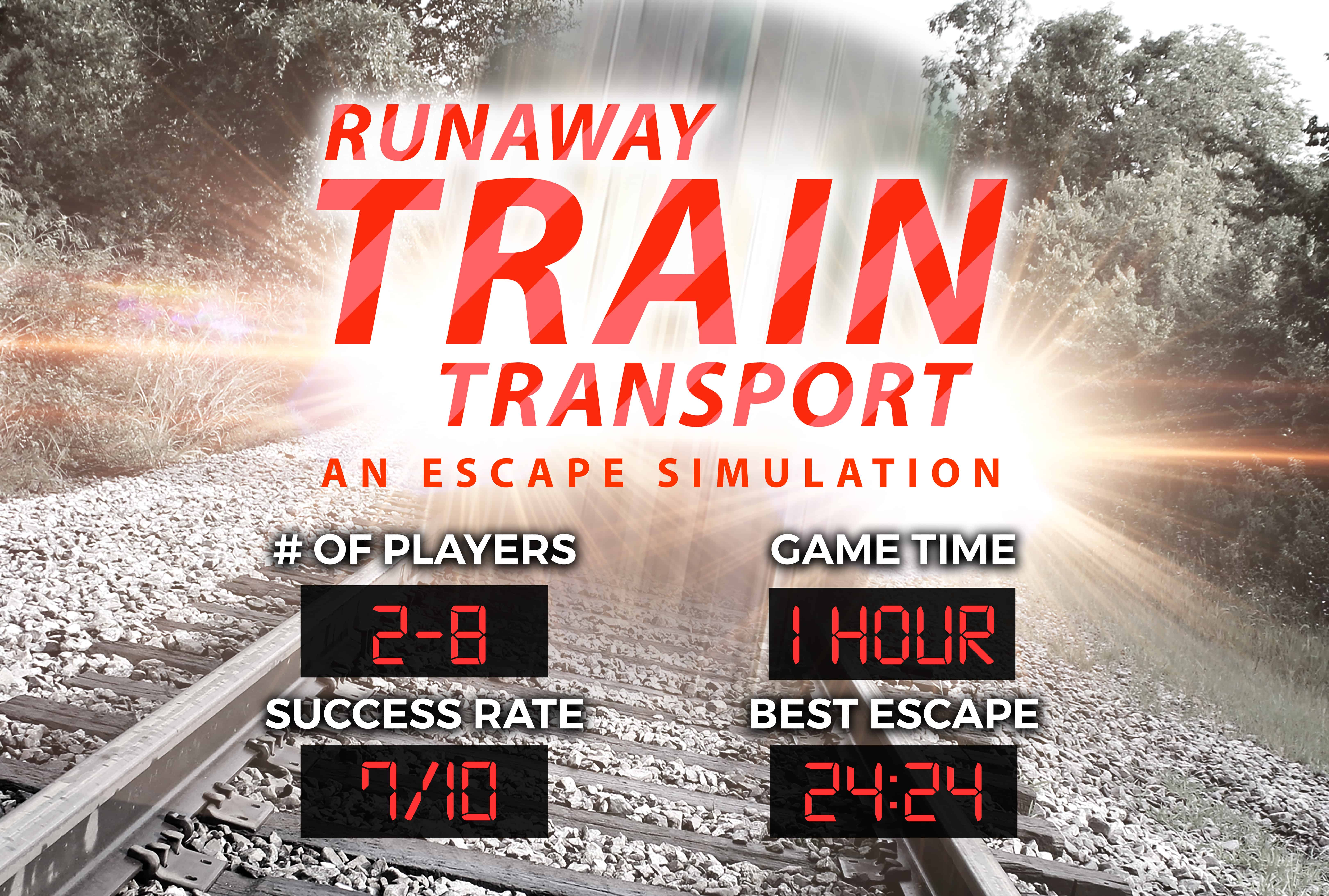 Runaway Train Escape Experience Chattanooga Breakout Escape Room Games
