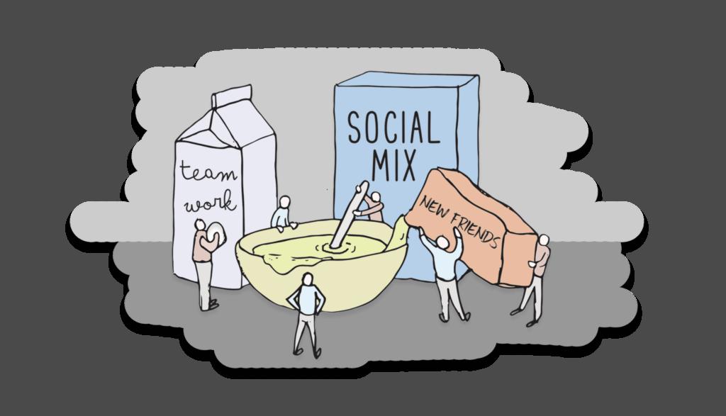 Social Mixers