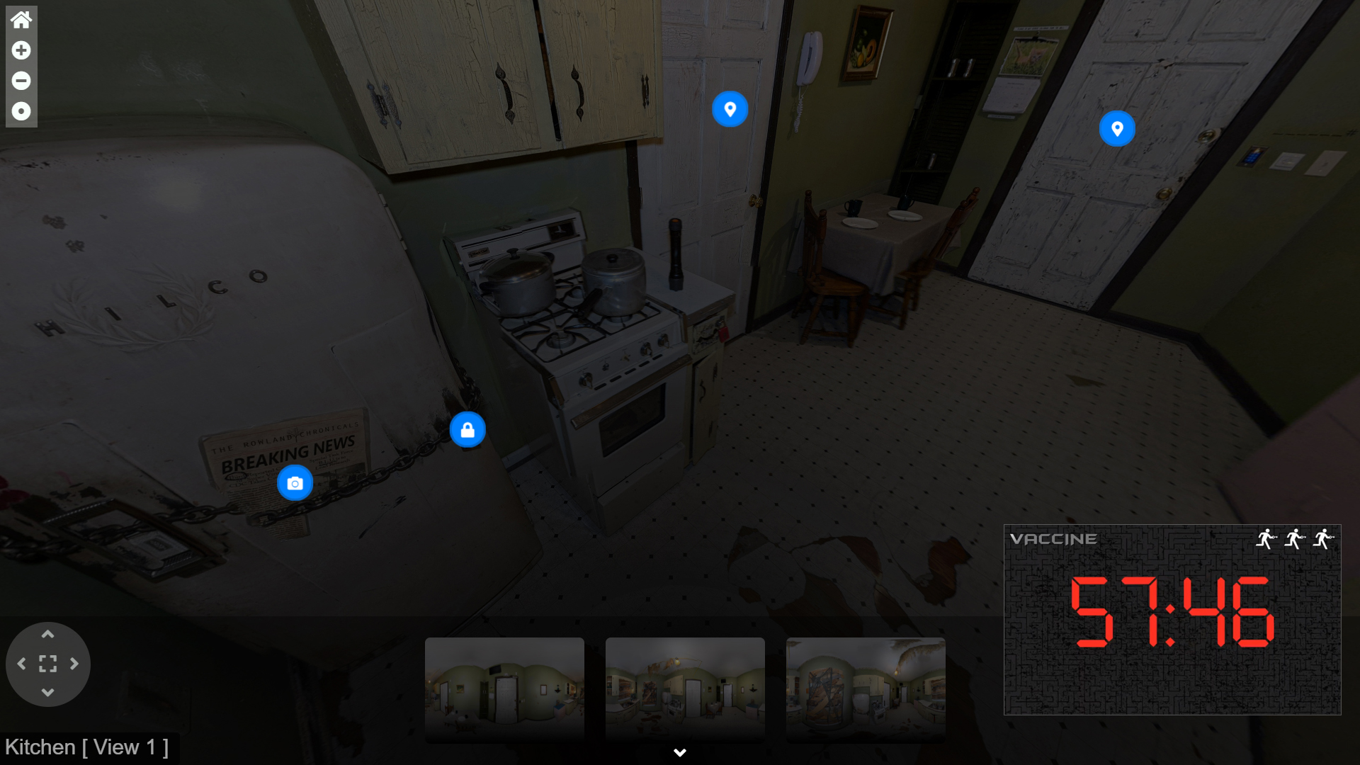 Virtual Tour Screen Shot - Escape Experience